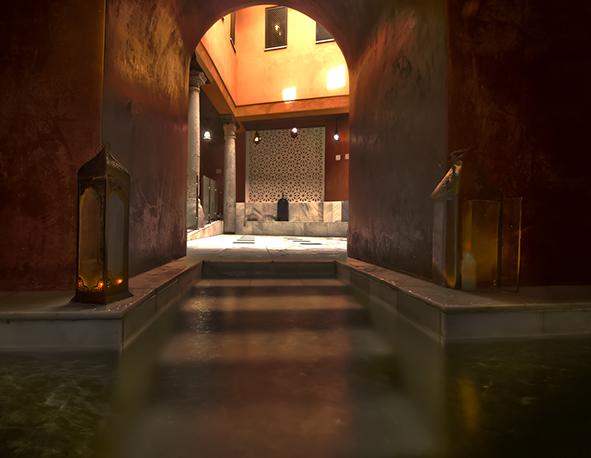 Disfruta de unos baños arabes